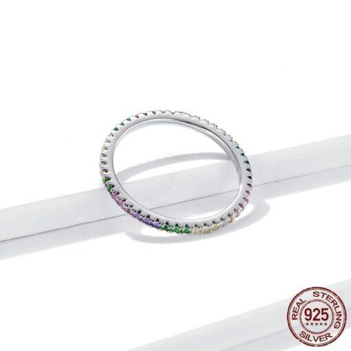 bague arc-en-ciel bijoux bijoux strass femme