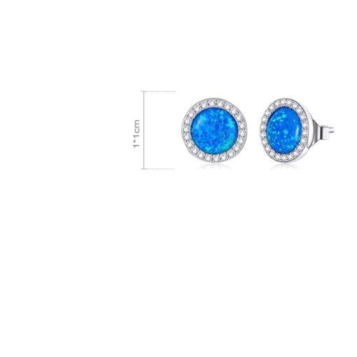 boucles d'oreilles opale bijoux bijoux strass femme