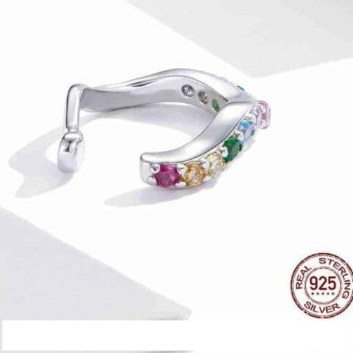 bijou d'oreille en argent à strass bijoux bijoux strass femme boucles d'oreilles strass et paillettes