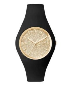 ice glitter black gold moyenne montres femme
