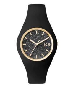montre ice glitter noir moyenne montres femme