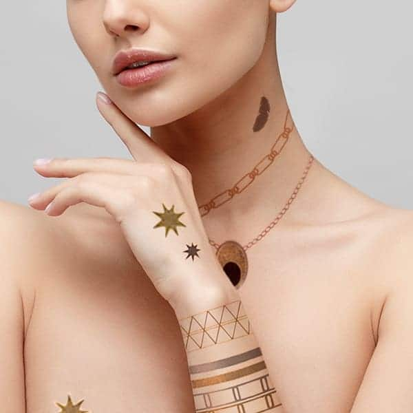 tatouages éphémères bijou accessoires autres accessoires