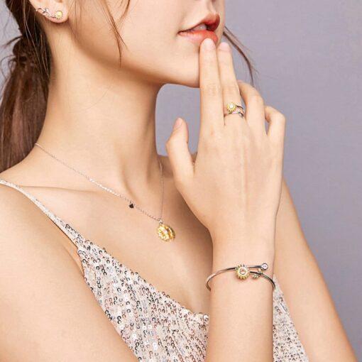 ensemble bijoux femme marguerite argent 925 bijoux bijoux strass femme ensemble tenue femme