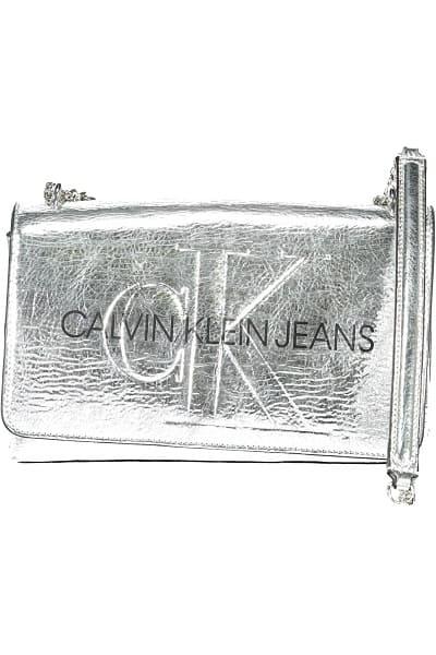 sac calvin klein tracolla donna argenté accessoires autres accessoires sacs femme