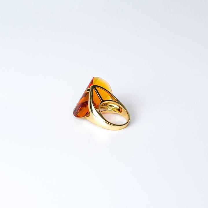 bague pierre ambre camelya