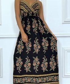 robe-longue-d-ete-noire-a-motifs-tres-tendance