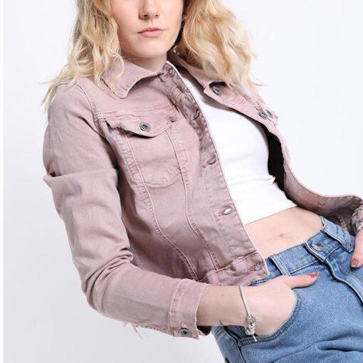veste en coton avec des boutons avec poches
