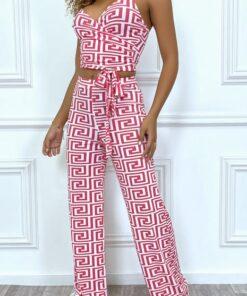 ensemble-crop-top-et-pantalon-palazzo-rose-a-motif
