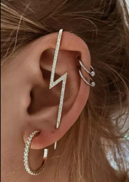 boucles d'oreilles à crochet